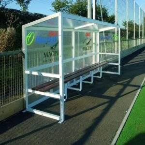 Harrod Aluminium Team Shelter Fixed 4m by Podium 4 Sport