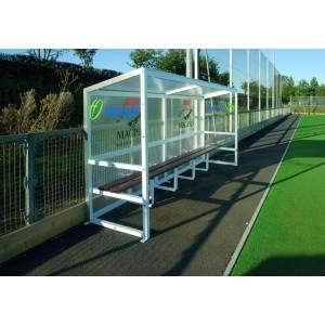 Harrod Aluminium Team Shelter Fixed 4m by Podium 4 Sport