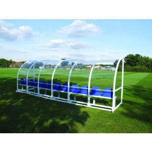 Harrod Premier Team Shelter 6m Fixed Blue by Podium 4 Sport