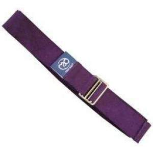 Fitness Mad 2m Lightweight Yoga Belt Grape by Podium 4 Sport