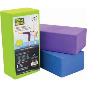 Fitness Mad Hi-Density Yoga Brick by Podium 4 Sport