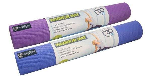 Fitness Mad Warrior 4mm Yoga Mat by Podium 4 Sport