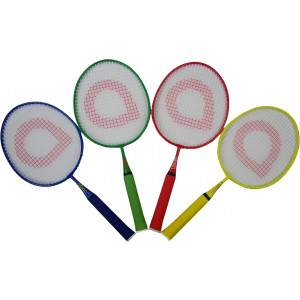 Badminton Pack of 4 Junior Rackets by Podium 4 Sport