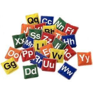 First Play A-Z Alphabet Bean Bag Set by Podium 4 Sport
