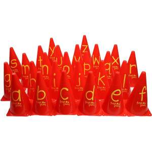 First Play A-Z Alphabet Cones Set by Podium 4 Sport