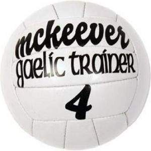 McKeever Trainer Gaelic Football Size 4 by Podium 4 Sport