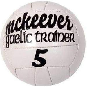 McKeever Trainer Gaelic Football Size 5 by Podium 4 Sport
