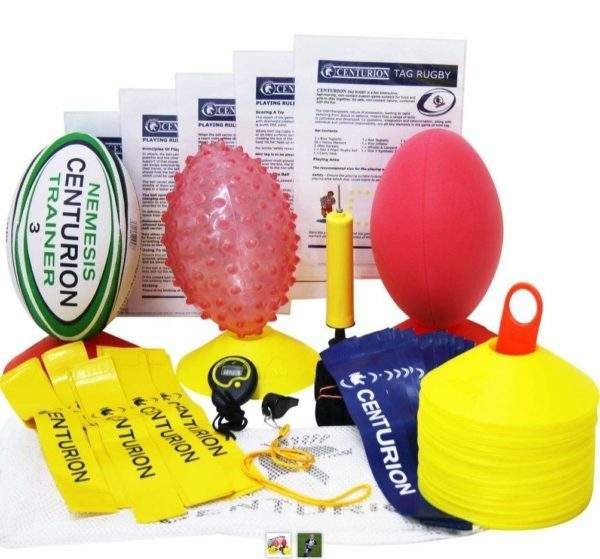 First-Play Tag Rugby Development Kit by Podium 4 Sport
