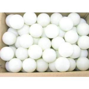 White Practice Balls - Box of 144 by Podium 4 Sport