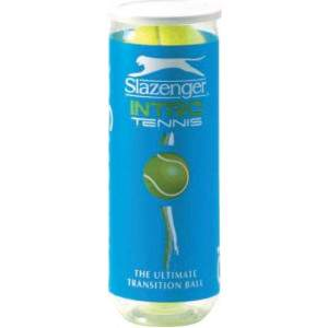 Slazenger Mini Tennis Ball Green 3 Ball Tube-0