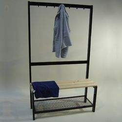 Cloakroom Unit Single Sided 1200mm by Podium 4 Sport