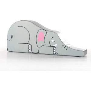 Soft Plat Elephant Ride n Slide by Podium 4 Sport