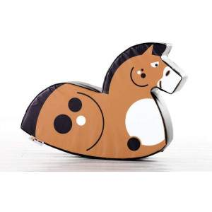 Soft Play Rocker Horse Chestnut by Podium 4 Sport