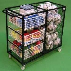 Deluxe PE Storage Trolley by Podium 4 Sport