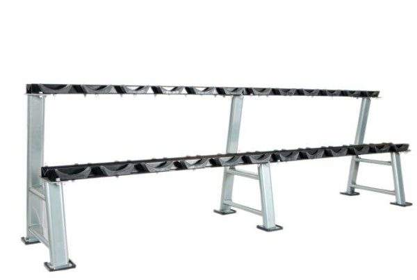 NXG 12 Pair Dumbell Rack (2 Tier) by Podium 4 Sport
