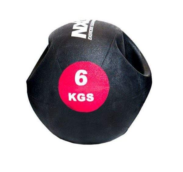 NXG Double Grip Medicine Ball 6kg by Podium 4 Sport