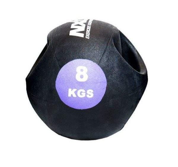 NXG Double Grip Medicine Ball 8kg by Podium 4 Sport