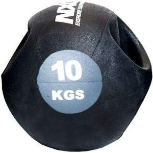 NXG Double Grip Medicine Ball 10kg by Podium 4 Sport
