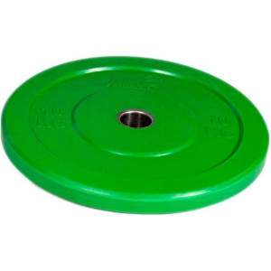 NXG Olympic Training Colour Rubber Disc (Round) 10kg by Podium 4 Sport