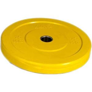 NXG Olympic Training Colour Rubber Disc (Round) 15kg by Podium 4 Sport