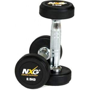 NXG Rubber Dumbbell Pair 2.5kg by Podium 4 Sport