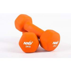 NXG Neoprene Dumbbell Pair 2kg by Podium 4 Sport