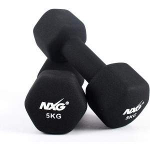 NXG Neoprene Dumbbell Pair 5kg by Podium 4 Sport