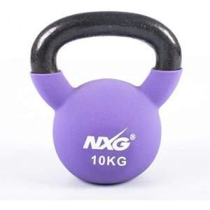 NXG Neoprene Kettlebell 10kg by Podium 4 Sport