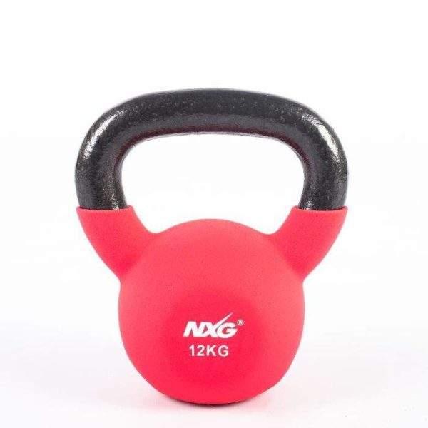 NXG Neoprene Kettlebell 12kg by Podium 4 Sport
