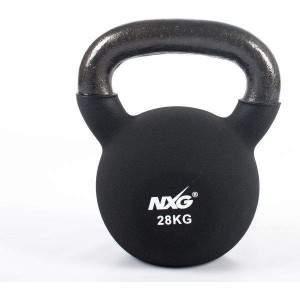 NXG Neoprene Kettlebell 28kg by Podium 4 Sport
