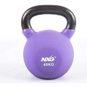 NXG Neoprene Kettlebell 40kg by Podium 4 Sport