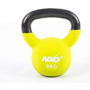 NXG Neoprene Kettlebell 8kg by Podium 4 Sport