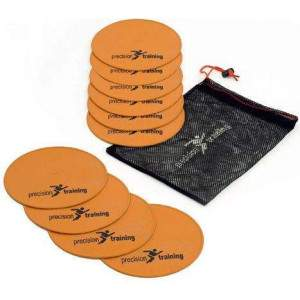 Precision Training Flat Round Markers by Podium 4 Sport