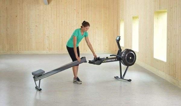 Concept 2 Model D Indoor Rower by Podium 4 Sport