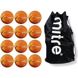 Mitre Oasis Netball Multi Buy Size 5 by Podium 4 Sport
