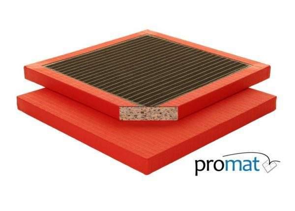 Promat Club Judo Mat 1m x 1m x 40mm by Podium 4 Sport
