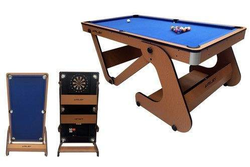 Riley 6Ft Vertical Folding Pool Table by Podium 4 Sport