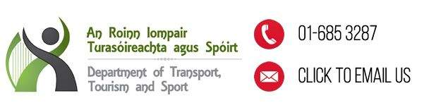 Department of Transport, Tourism and Sports, Ireland