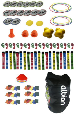 Tuftex Rugby Coaching Junior Pack by Podium 4 Sport