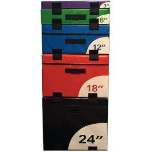 NXG Soft Plyo Box by Podium 4 Sport