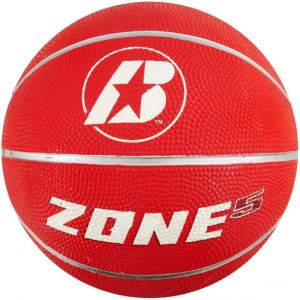 Baden Zone Basketball Size Red 5 by Podium 4 Sport