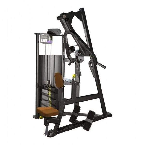 Indigo Fitness Selectorised Seated Back/Row by Podium 4 Sport