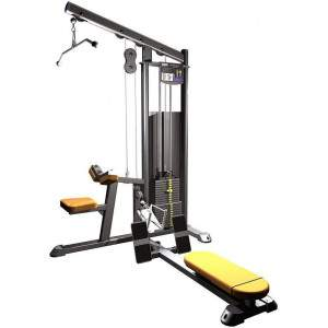 Indigo Fitness Selectorised Lat Pull Down/Low Row by Podium 4 Sport