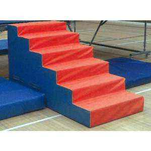 Unitramp Trampoline Steps by Podium 4 Sport