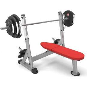 Indigo Fitness Fixed Olympic Bench by Podium 4 Sport