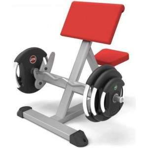 Indigo Fitness Preacher Curl by Podium 4 Sport