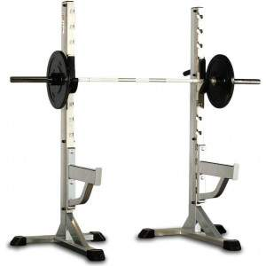 Indigo Fitness Premium Series Squat Stands (Pair) by Podium 4 Sport