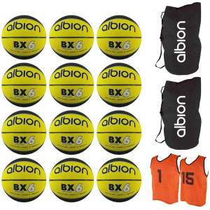Albion Basketball Pack Size 6 by Podium 4 Sport