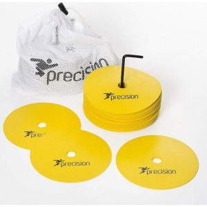 Precision Training Flat Rubber Marker Discs by Podium 4 Sport
