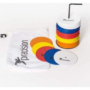 Precision Training Flat Rubber Marker Discs Small by Podium 4 Sport